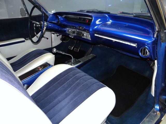 64 Chevy Impala Ss Coupe 4 Speed Custom Paint Interior