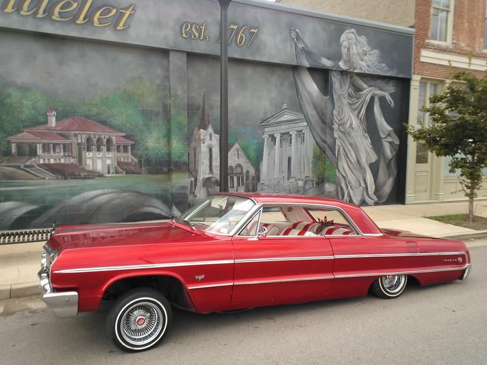 64 39 Chevy Impala 2door Candy Paint Hydrualics Custom Interior 100 Spokes Lambos