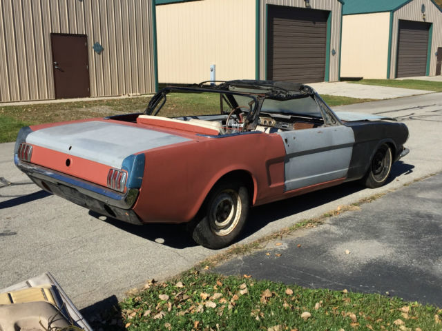 66 1966 Mustang Convertible A Code Project Car Pony Interior