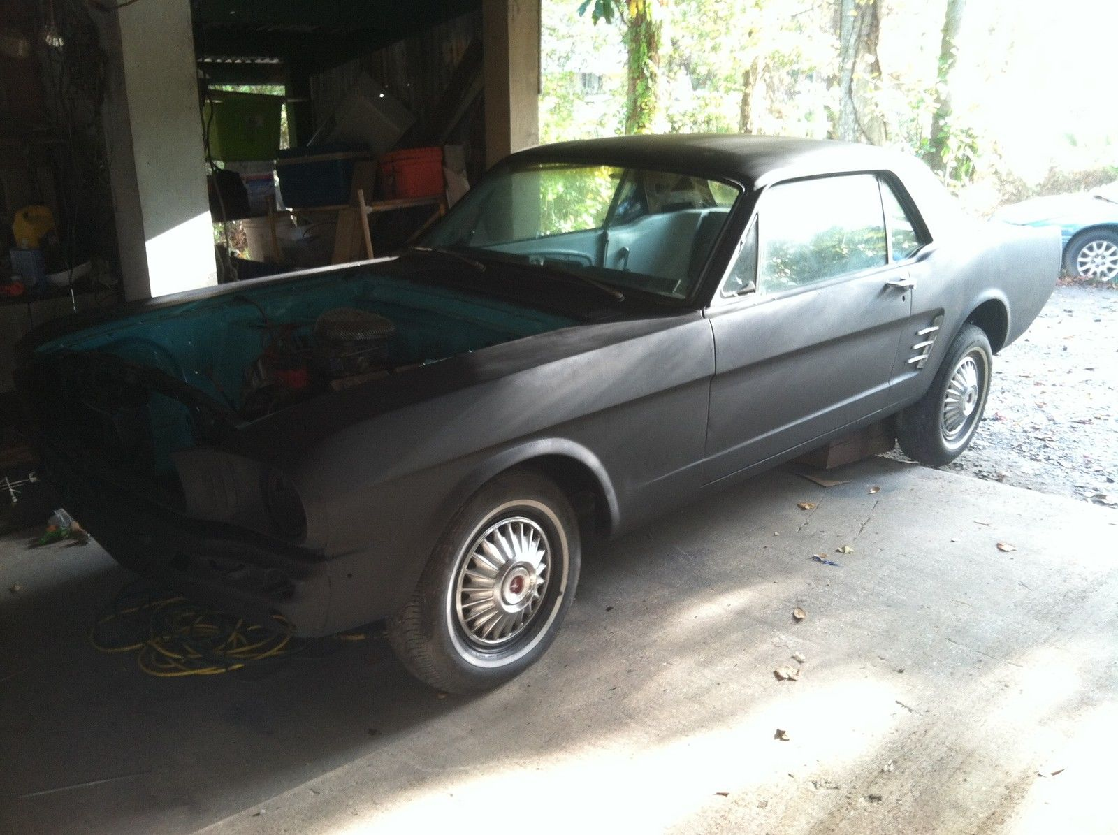 66 Ford Mustang Project Car Needs Work