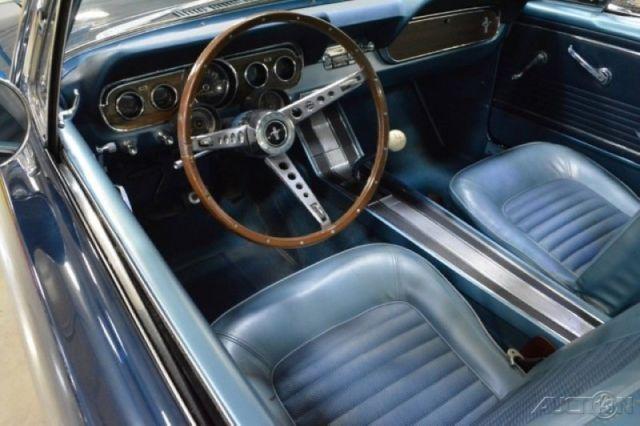 66 Mustang GT Fastback K-Code 4-Speed Manual 289ci 271 hp