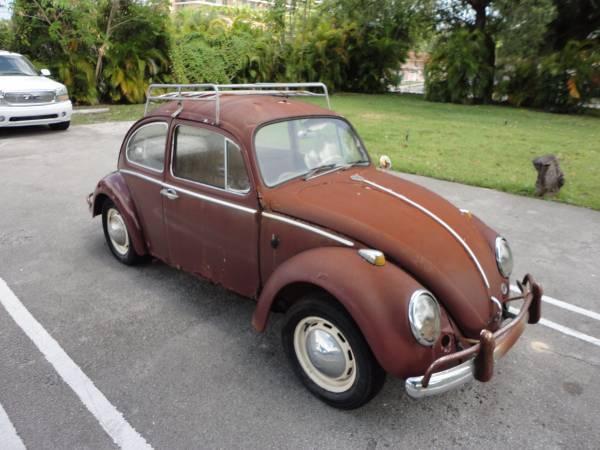 66 VW Beetle - True barn find - NO RESERVE