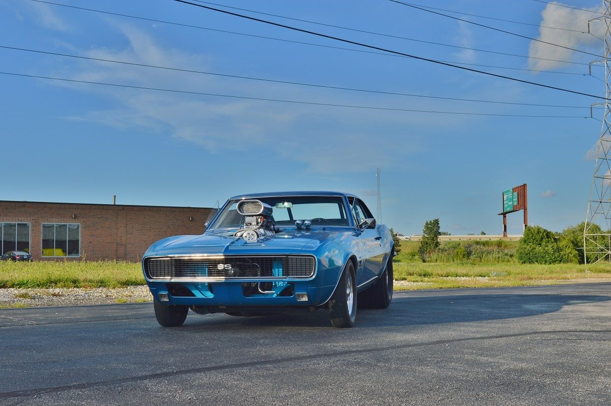 67 Camaro Rs Pro Street For Sale In Chicago Illinois