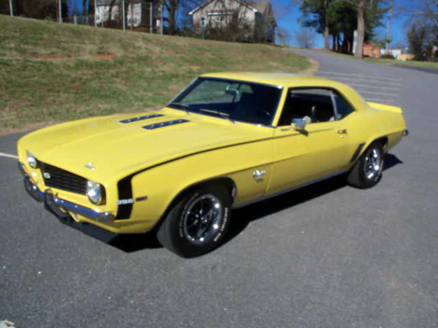 69 camaro ss 396 daytona yellow with houndstooth int. Cars Review. Best American Auto & Cars Review
