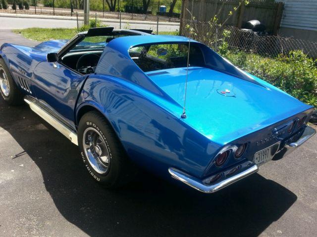 69 corvette stingray pearl blue 4 speed. Black Bedroom Furniture Sets. Home Design Ideas