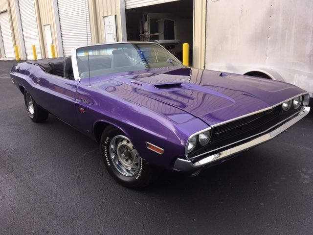 70 Dodge Challenger Convertible 340 727 Automatic R T