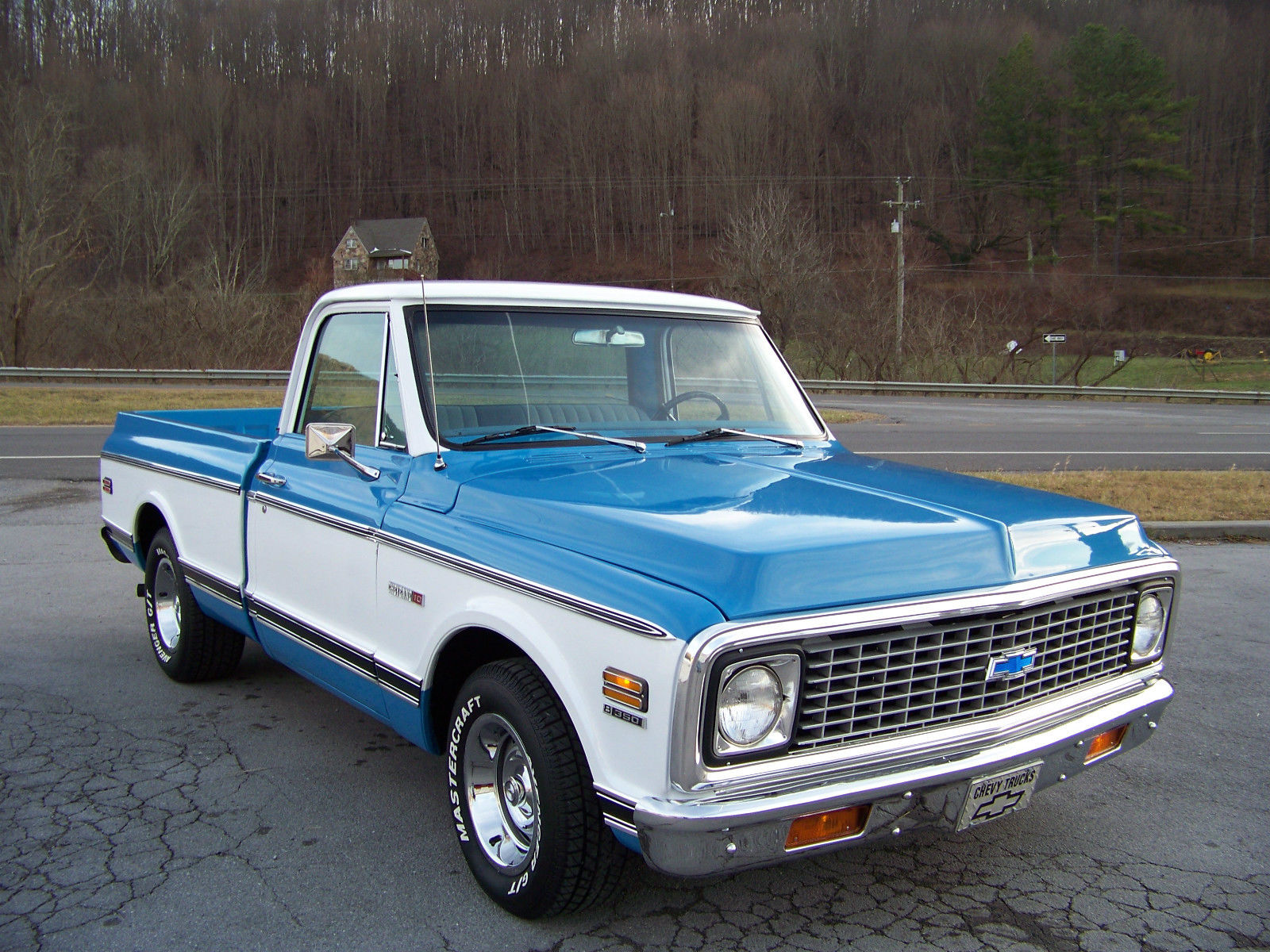 72 chevrolet c10 short bed 350 automatic very nice. Black Bedroom Furniture Sets. Home Design Ideas