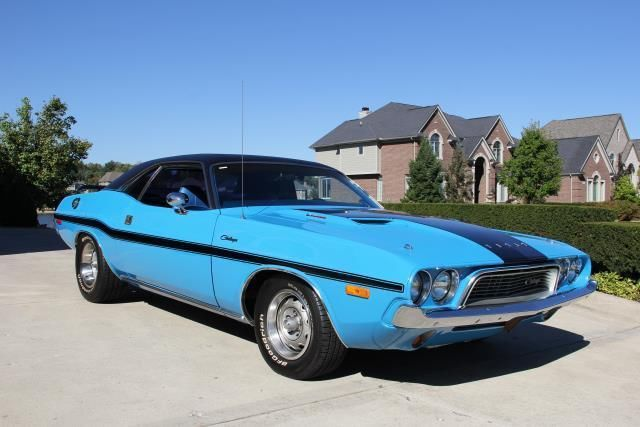 73 Dodge Challenger 340 Restored Gorgeous Muscle Car