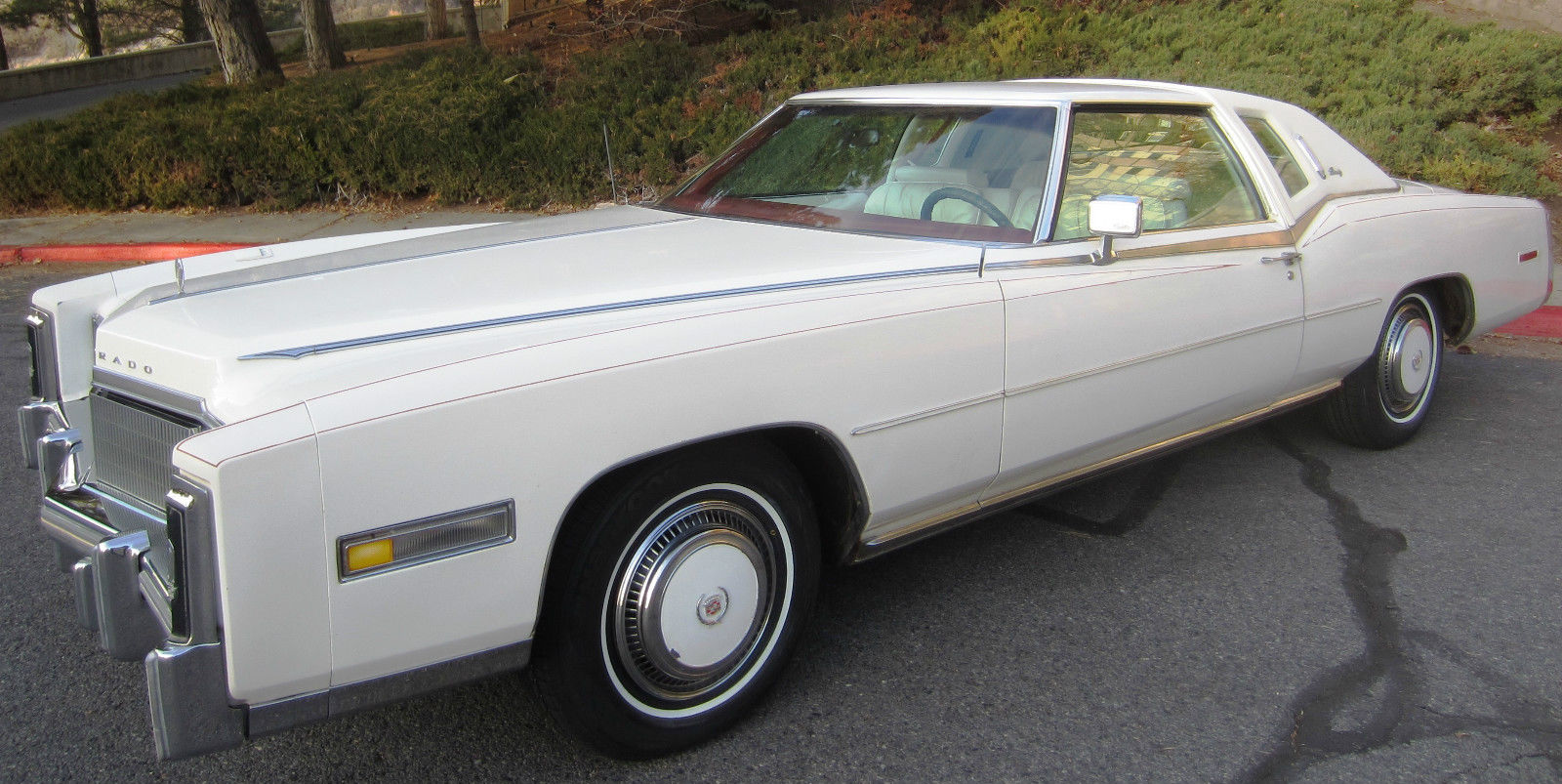 mileage map of usa with 3994 77 Cadillac Eldorado Biarritz 112k Original Miles All Original on 8296 1981 Jeep Cj5 Full Restoration V8 4 Speed Classic 4x4 together with 29030 1967 Ford Mustang Convertiblev8 Autopsgt Wheels 039c039 Code Runs And Drives additionally 14001 1974 Dodge Charger additionally Urbee 2 furthermore 67443 1966 Ford Galaxie 500 Xl Hardtop Fastback 390  plete Frame Off Restoration.