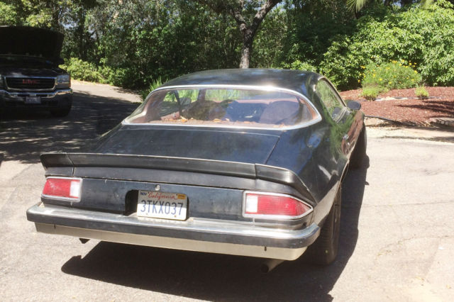 77 Chevy Camaro Great Project Car Original Owner