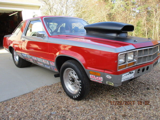 79 Ford Fairmont Drag Car Fox Body Mustang Undercarrage
