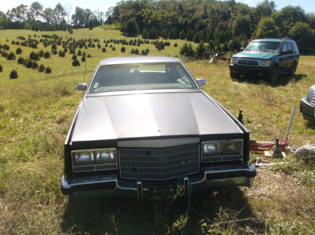 82 RARE 1982 Cadillac Eldorado Touring Coupe black /grey ...