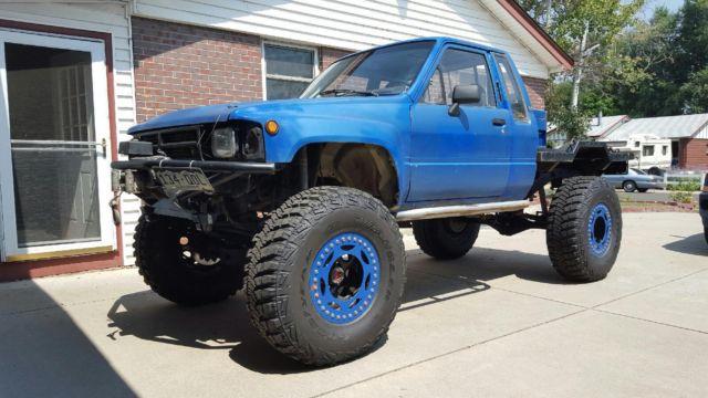 84 toyota truck rock crawler 22re fully built for sale in denver colorado united states. Black Bedroom Furniture Sets. Home Design Ideas