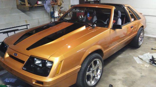 85 Mustang Gt T Tops