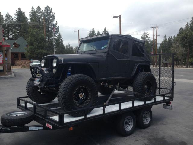 Jeep Cj Rock Crawler V Ton Axles King Coilovers Linked Rockcrawler