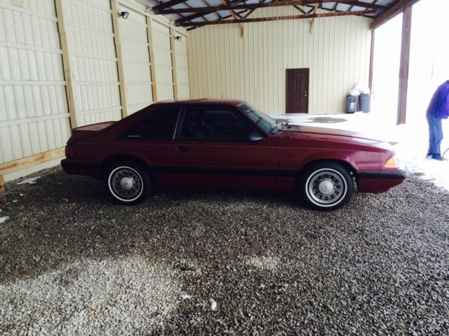 87 Ford Mustang Fox Body Lx Hatchback