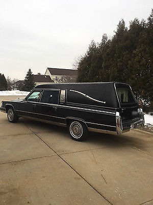 91 Cadillac Hearse End Loader Built By Superior