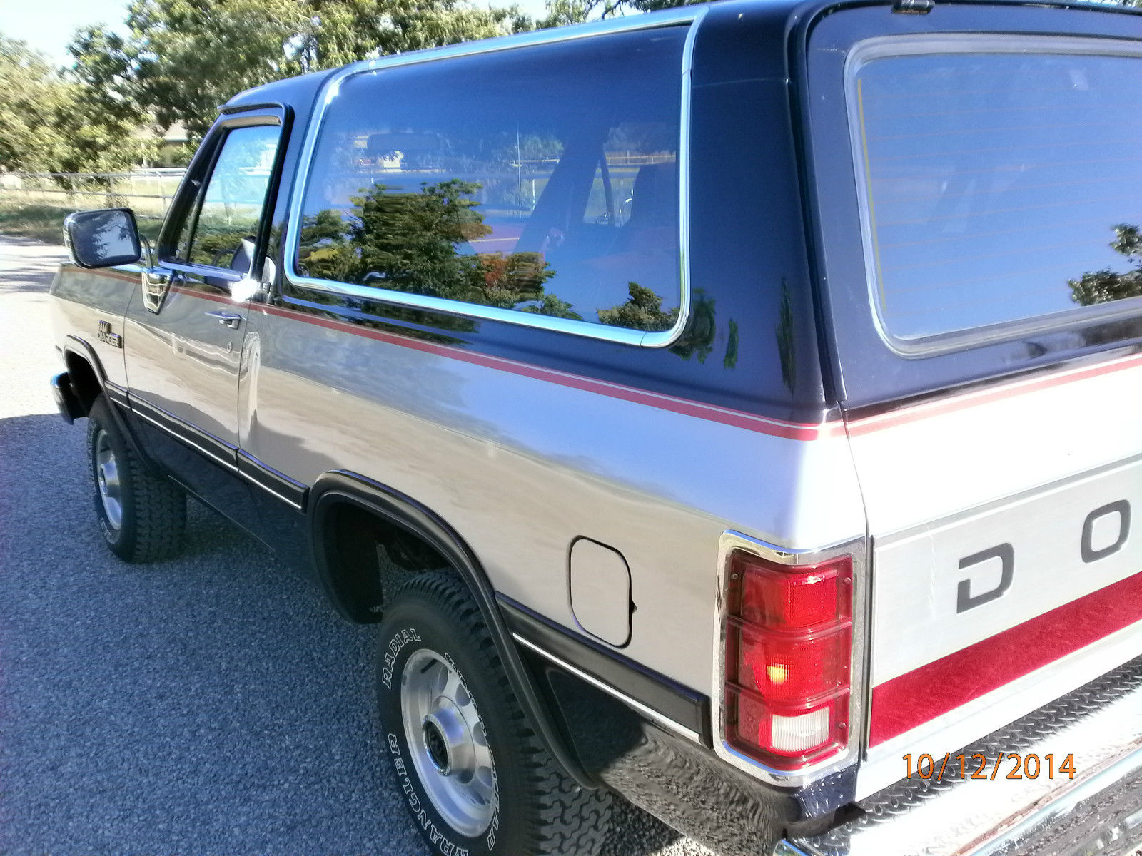 91 DODGE RAMCHARGER SE 4X4 2dr V-8 SUV NICEST ONE I\'VE EVER SEEN ...