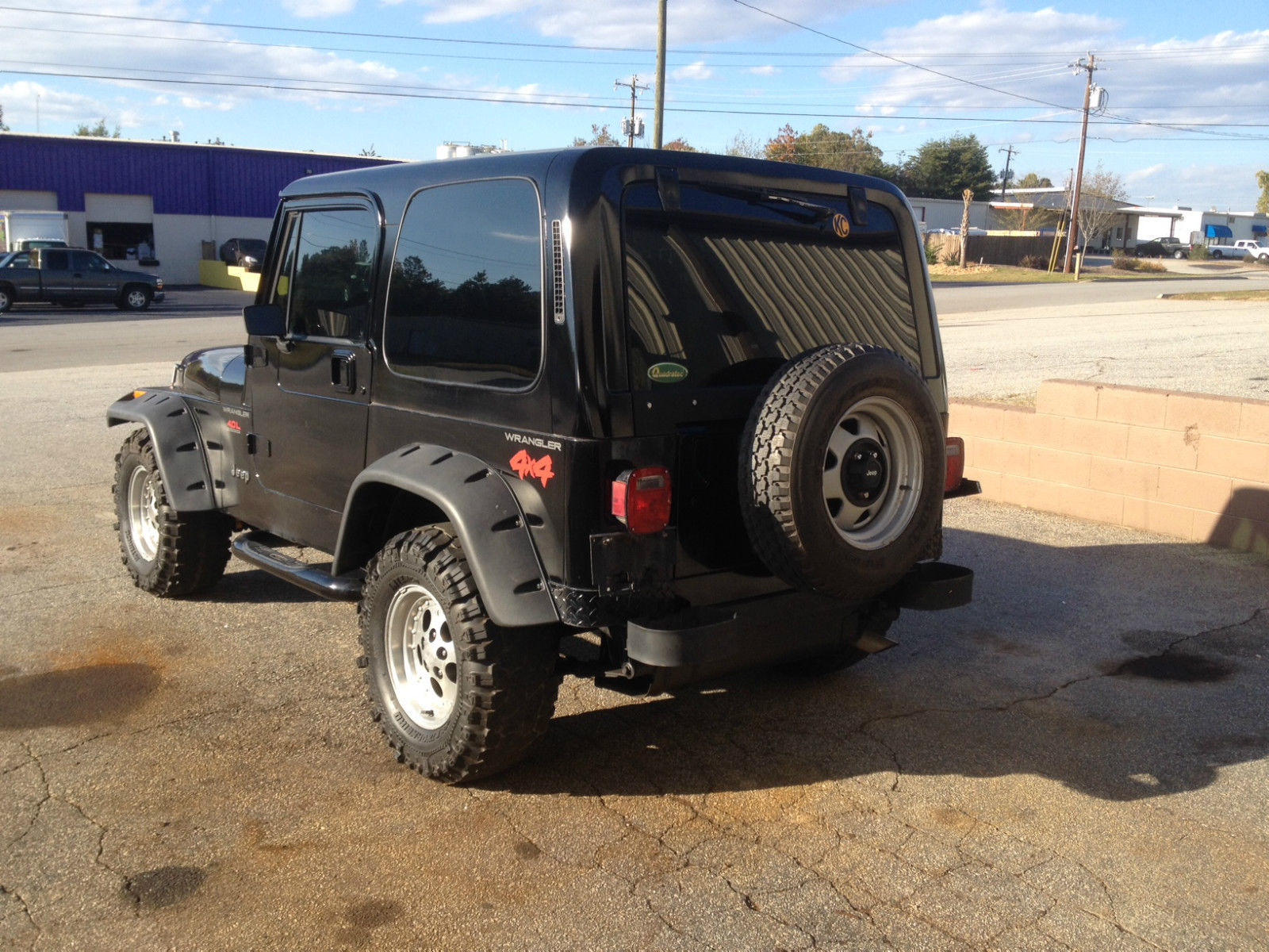 92 Jeep Wrangler with hard top runs and drives