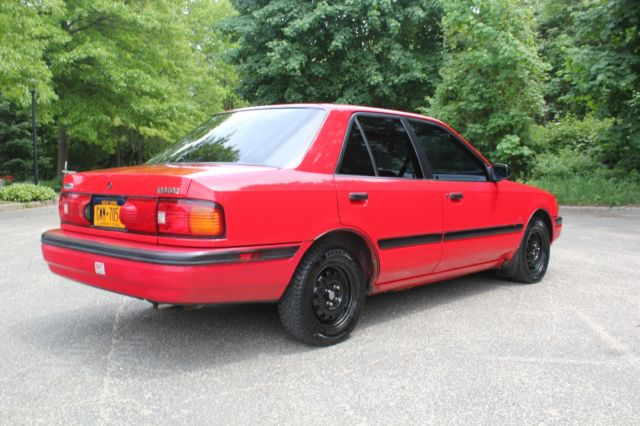 92 Mazda Protege 5SPD 86500 Miles Clean Car Fax Service Records NY Inspection