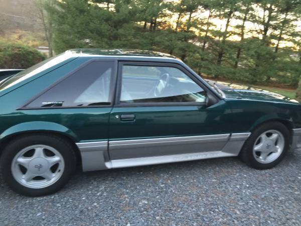 92 Mustang Gt 5 0 V8 Racing Supercharged Low Miles Green