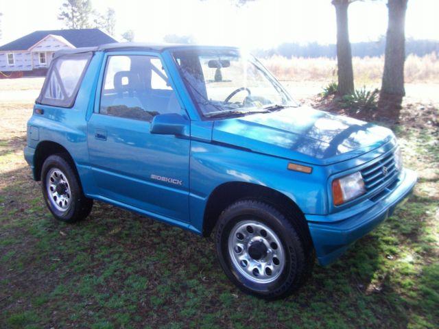 Suzuki Sidekick Rv Towing