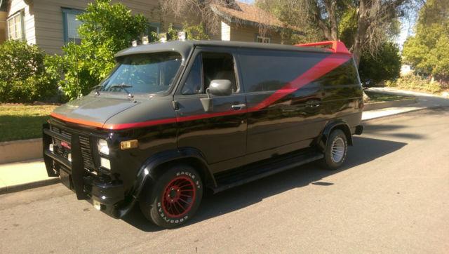 A Team Van Replica Chevy G20