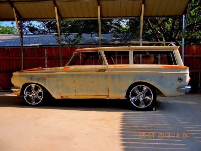 A Very Cool And Unique Hot Rod Rambler American 2 Door Wagon