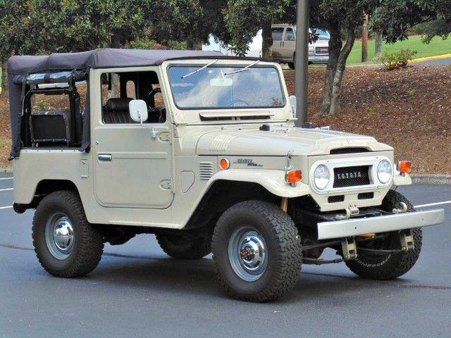 AdventureMotorCars presents 1970 FJ40 Frame off restored!