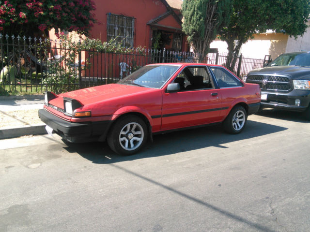 Vehicles For Sale Near Me >> AE86 1986 Toyota Corolla SR5