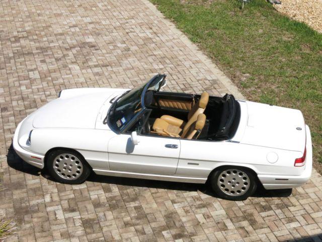 Alfa Romeo Spider Veloce Low Miles - 1991 alfa romeo spider for sale