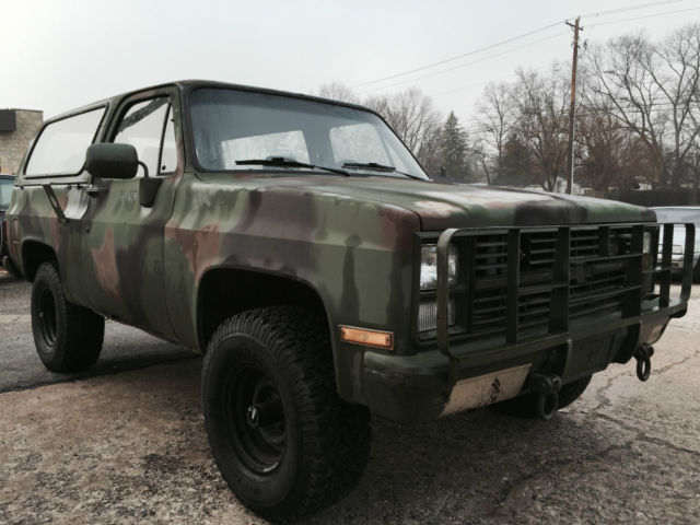 Used Cars For Sale Germany Military: Army Surplus Military Chevrolet K5 Blazer M1009 CUCV 4x4 Truck