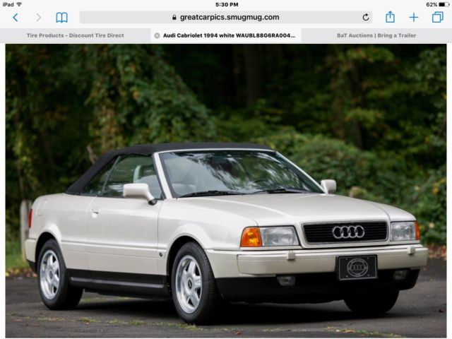cabriolet 1994 convertible 1994 audi cabriolet audi 90 80 a4 for sale. Cars Review. Best American Auto & Cars Review