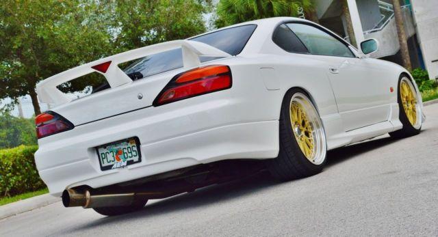 Authentic Nissan Silvia S15 SR20 Spec R JDM Turbo Show Car
