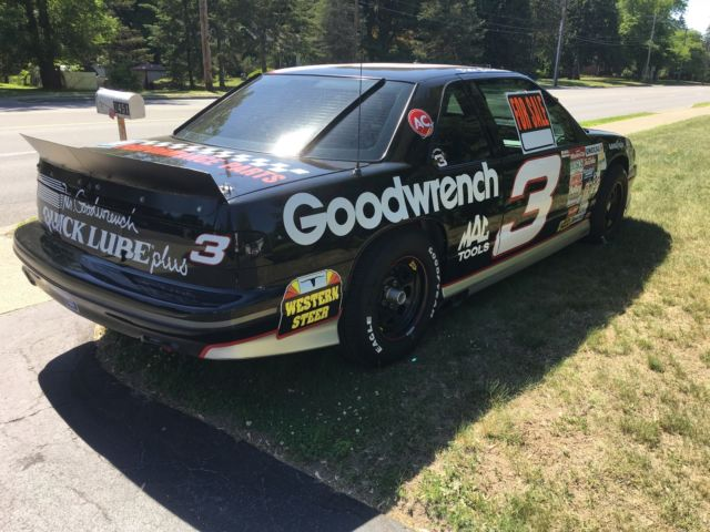 Automobile Chevy Lumina Z Dale Earnhardt Replica Car Miles on 1993 Chevy Lumina Z34