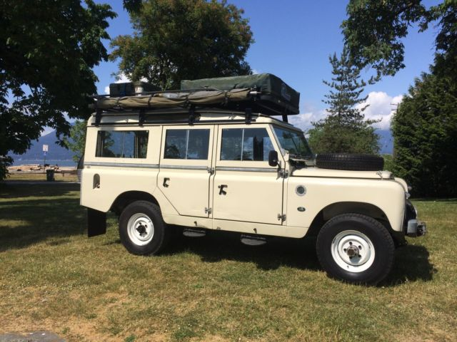 award winning north american land rover series iia 109 5 door 200tdi diesel. Black Bedroom Furniture Sets. Home Design Ideas