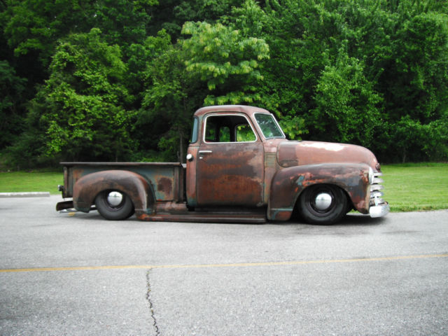 Bagged 1949 chevrolet shop truck 3100 pickup air ride 5 for 1949 five window chevy truck for sale