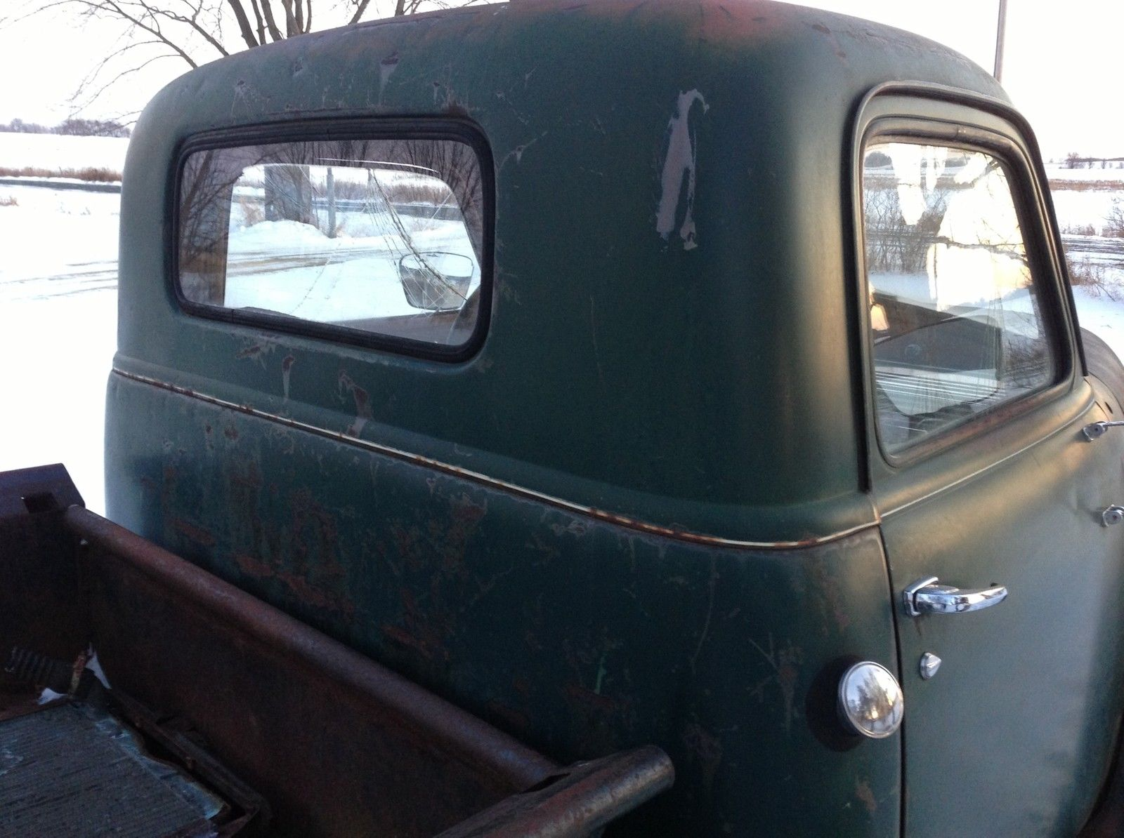 Barn Find 1950 Chevrolet 3600 Pickup Truck Patina Hot Rat Rod Gmc 1949 Chevy 1947 1953