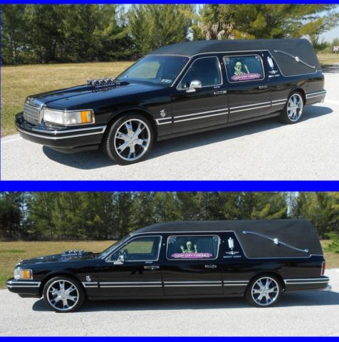 Beautiful Custom Lincoln He Town Car Funeral Hot Rod Wagon Limousine Limo For In Cape C Florida United States