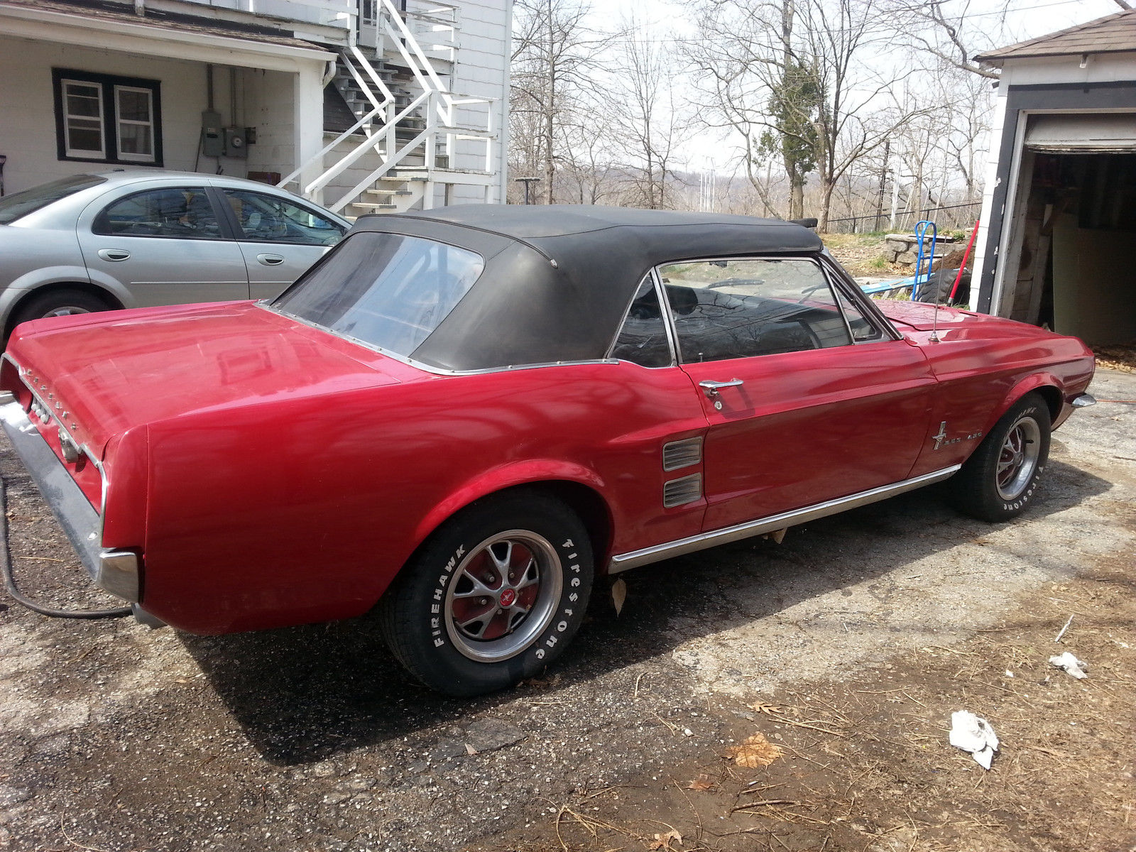 beautiful partially restored 1967 mustang convertible for sale in kansas city missouri united. Black Bedroom Furniture Sets. Home Design Ideas