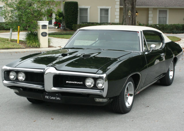 beautiful sporty survivor 1968 pontiac lemans sport coupe 2k mi. Black Bedroom Furniture Sets. Home Design Ideas