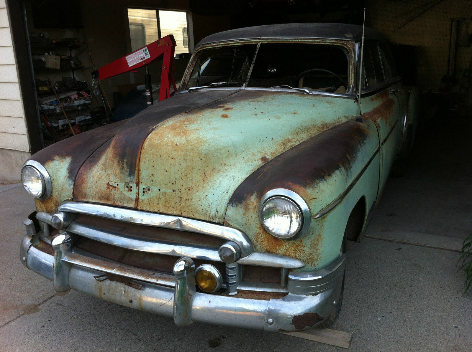 bel air chevy lead sled 1950 1949 hot rod unrestored