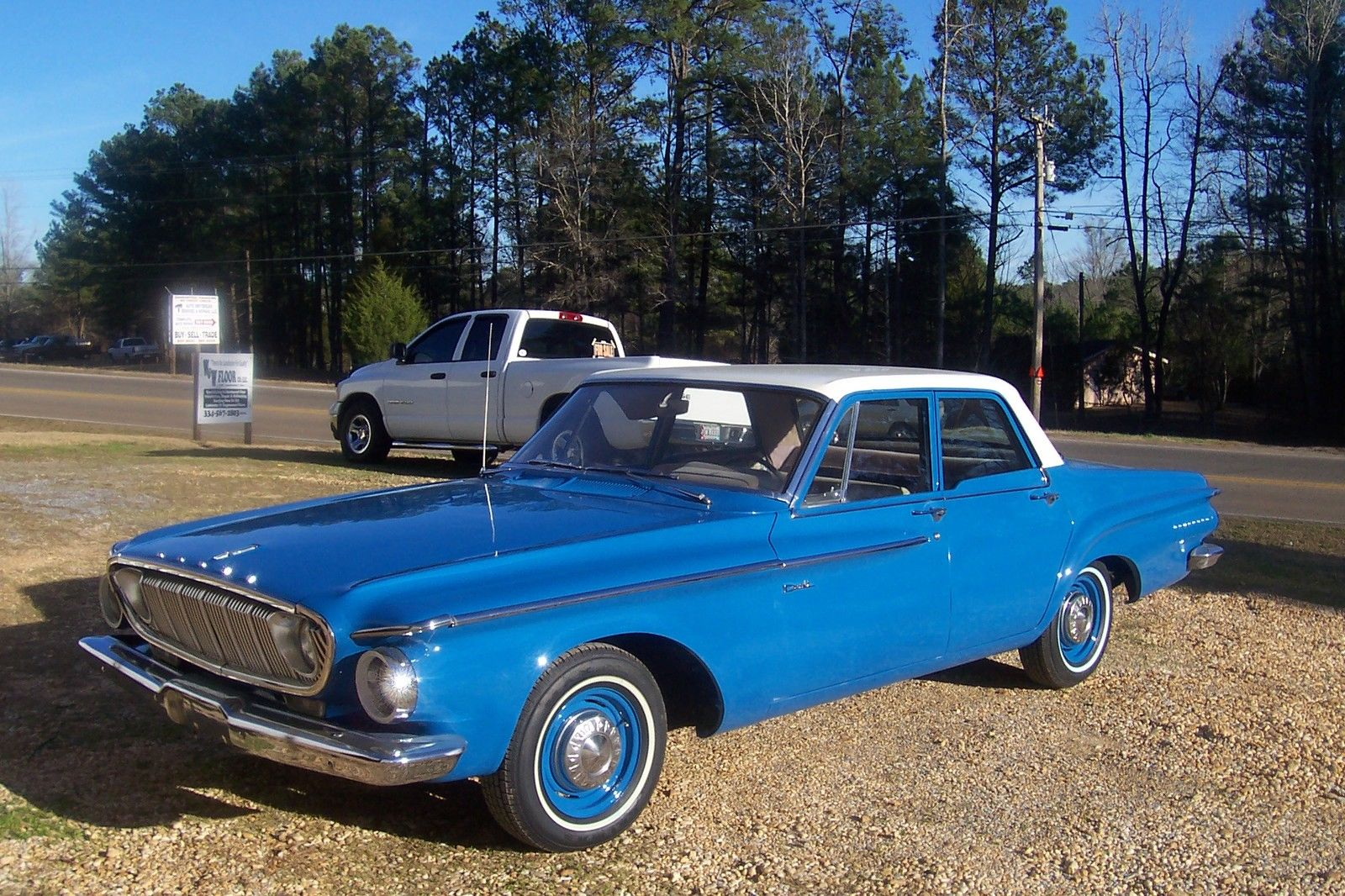 beutiful 1962 dodge dart true southern car with no previous rust. Black Bedroom Furniture Sets. Home Design Ideas