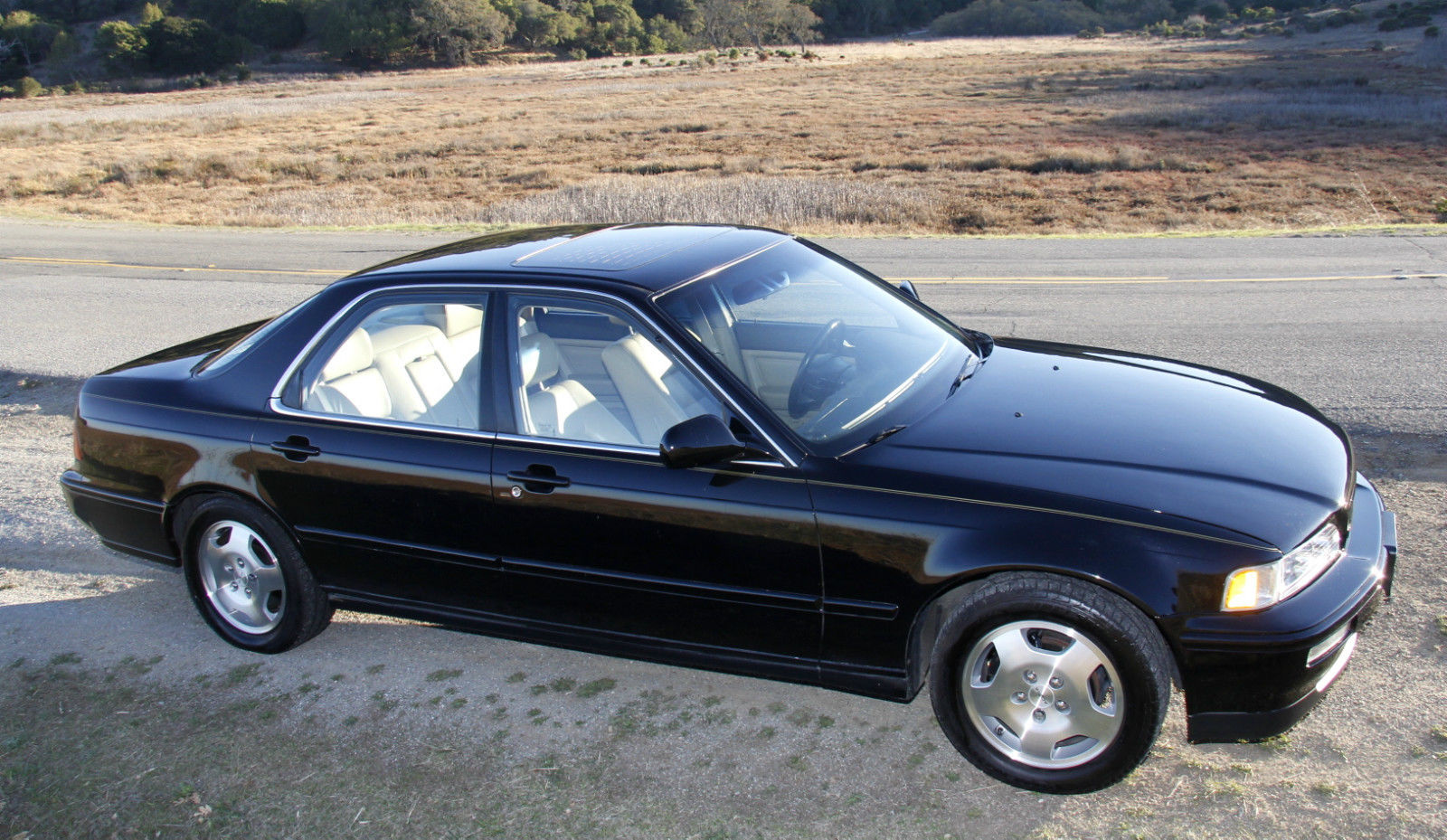 Black 1994 Acura Legend GS 6 Speed Manual Sedan with Navigation - Low  Mileage!