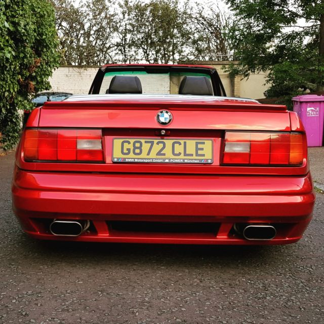 Bmw E30 Convertible With E36 M3 S50 B30 Engin And Gearbox