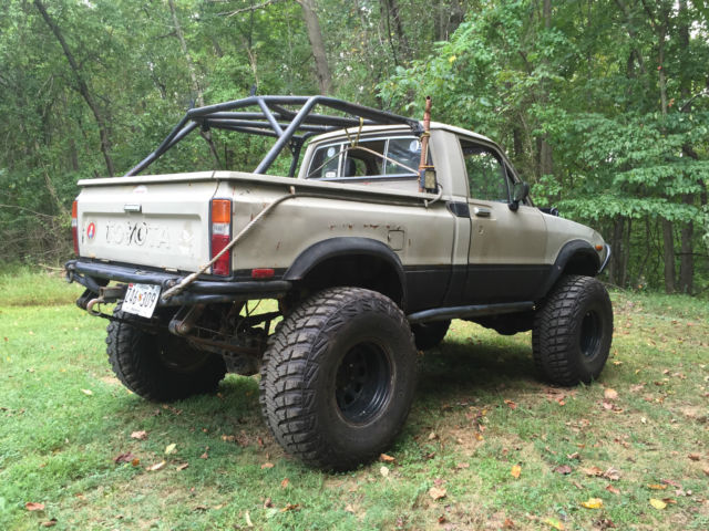 Built Rock Crawler 1982 Toyota Sr5 Hilux Swapped Dual