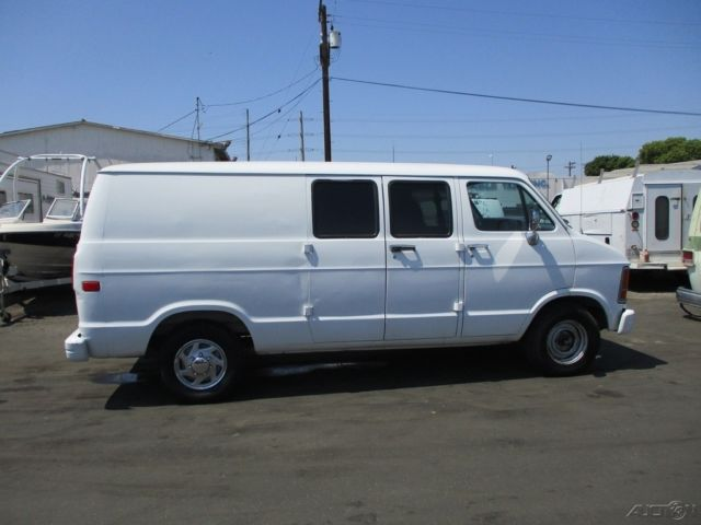 Ram 2500 For Sale >> C 1993 Dodge B250 Ram Used 5.2L V8 16V Automatic Minivan/Van NO RESERVE