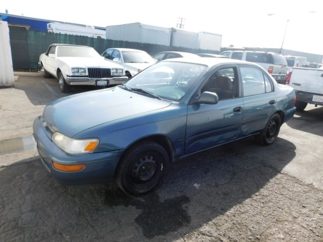 C 1994 Toyota Corolla Dx Used 1 6l I4 16v Automatic Sedan