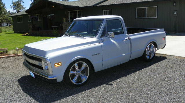 c10 chevy truck 1969 short bed 1 2 ton lowered custom classic nice pickup. Black Bedroom Furniture Sets. Home Design Ideas