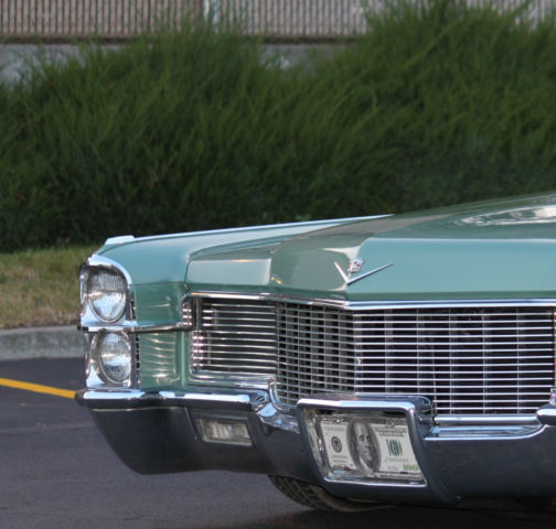 Custom Cadillac Deville For Sale: Cadillac, Custom, Bagged, Money Green For Sale In Spokane